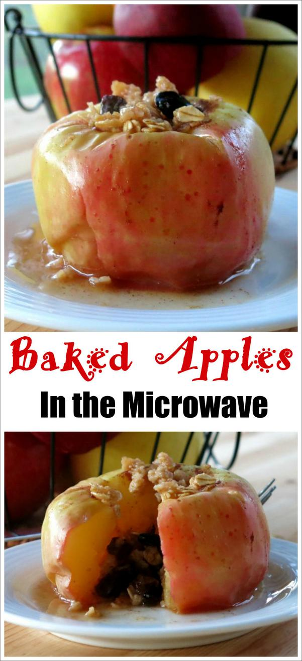 Microwave Baked Apples Recipe