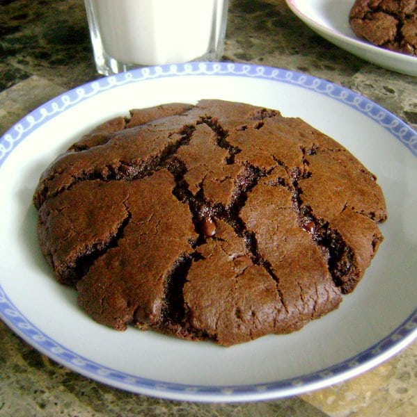 Molten Chocolate Chip Cookies