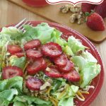Red Wine Vinaigrette Dressing Pin