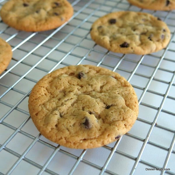 Perfect Vegan Chocolate Chip Cookies