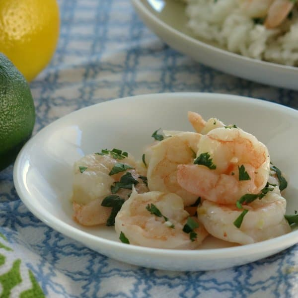 Garlic Roasted Shrimp with Cilantro, Lime and Lemon - The Dinner-Mom