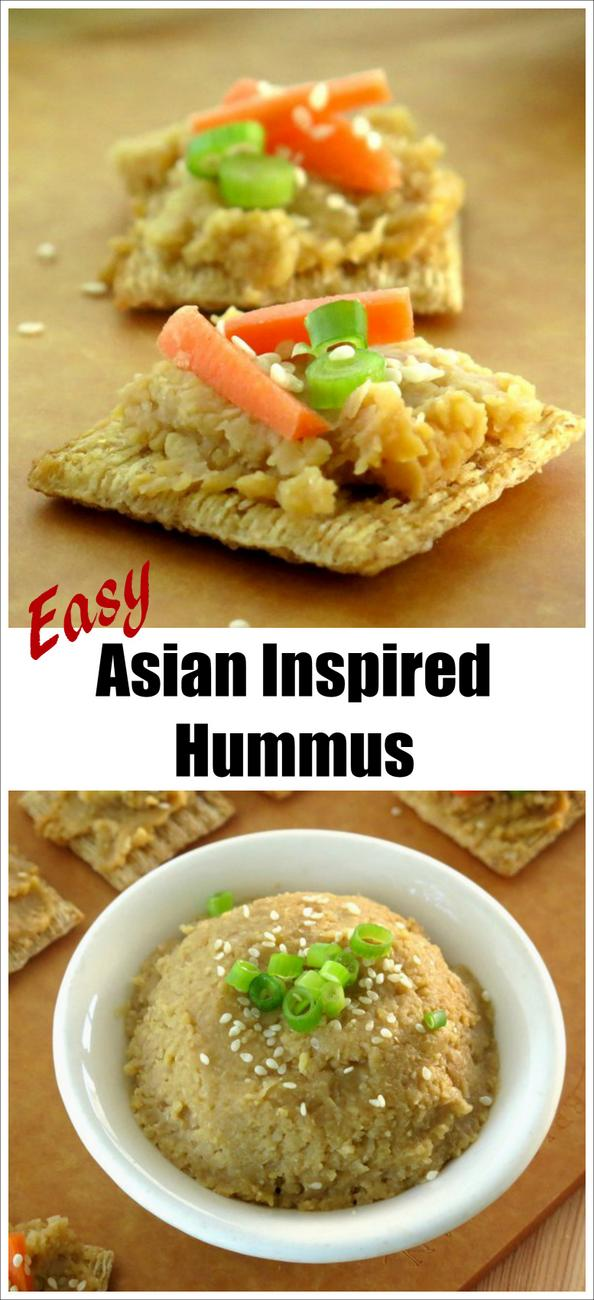 Easy Asian Inspired Hummus recipe