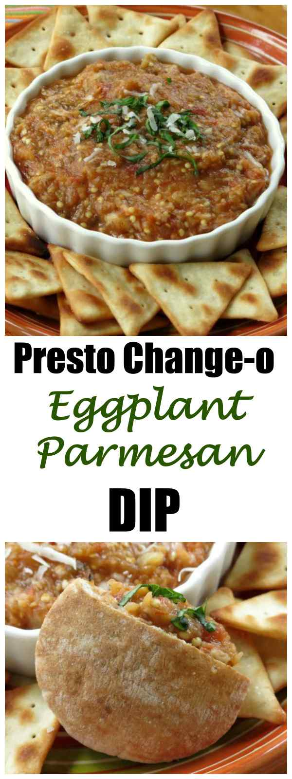 Easy Roasted Eggplant Parmesan Dip Recipe