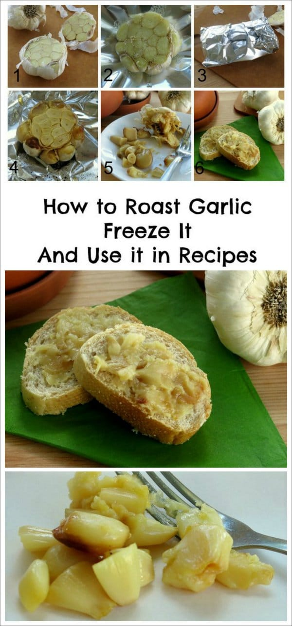 How to Roast Garlic Cloves, Freeze & Recipe Ideas - The Dinner-Mom