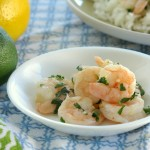 Garlic Roasted Shrimp with Cilantro, Lime and Lemon