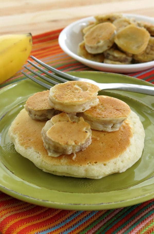 Pancake Battered Bananas