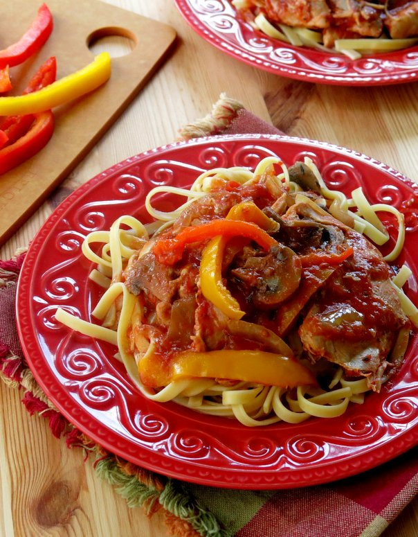 Crockpot Chicken Cacciatore Recipe