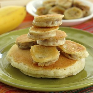 Battered Banana Pancakes Recipe
