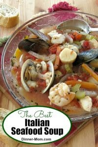 Best Italian Seafood Soup pin