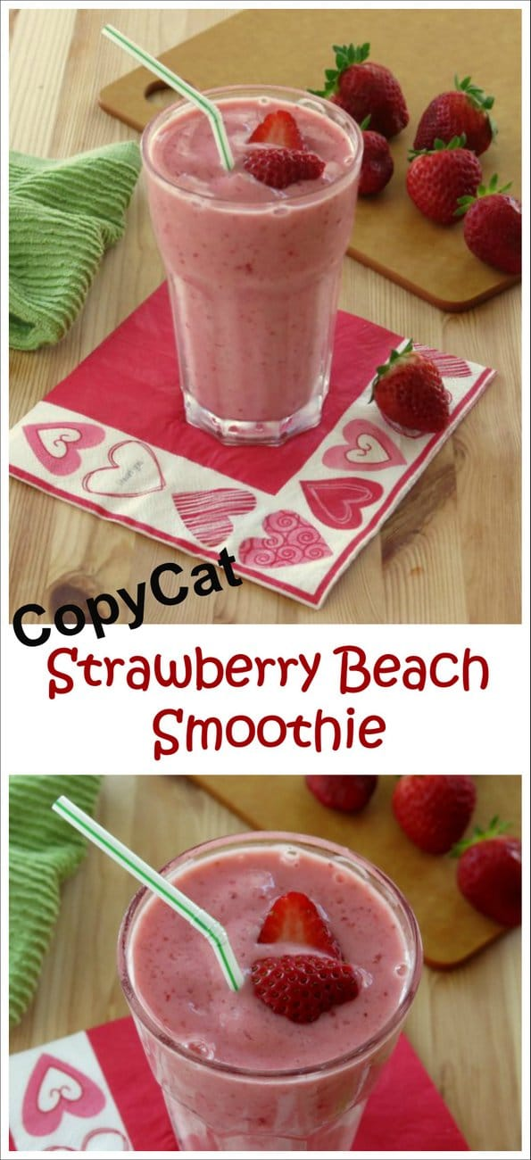 CopyCat Strawberry Beach Smoothie