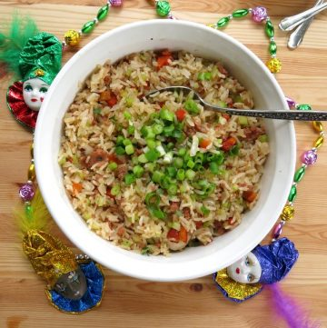 Easy Cajun Dirty Rice Bowls