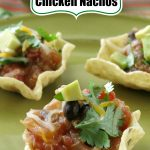 Slow Cooker Chicken Nachos Pin