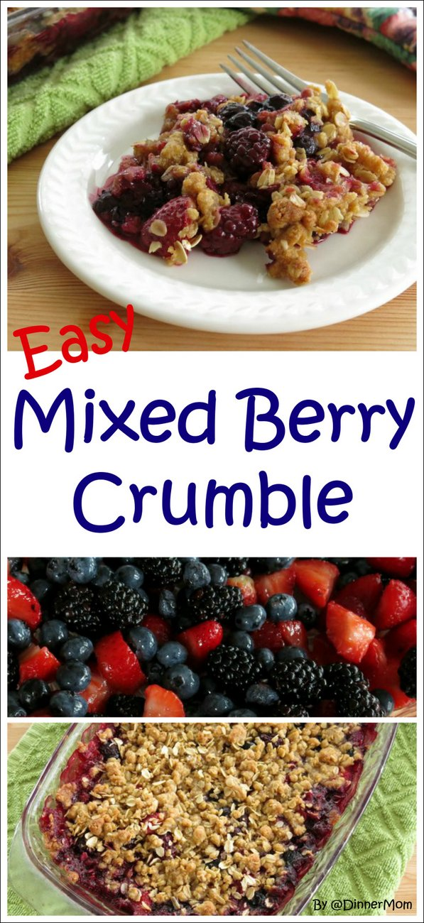 Easy Mixed Berry Crumble Recipe