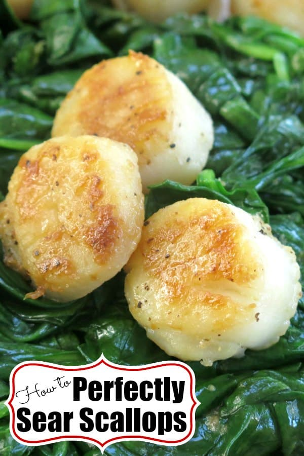 How to Perfectly Sear Scallops Pin