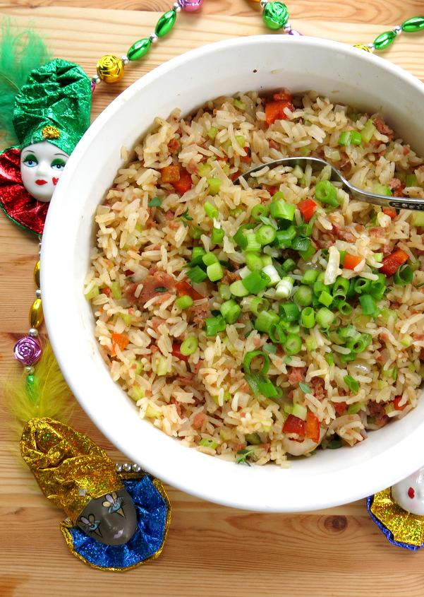 Easy Cajun Dirty Rice Bowl Recipe
