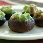 Quacamole Stuffed Mushrooms