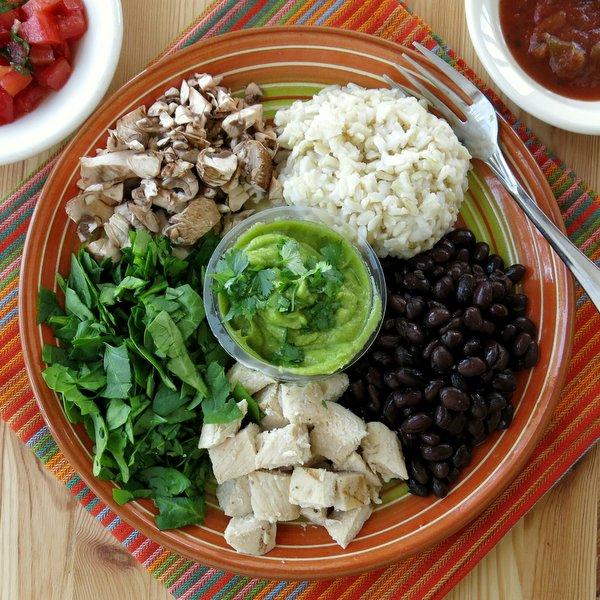 Rice Bowl Ingredients