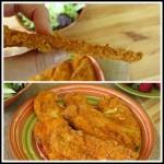 "Parmesan Paprika Chicken ""Chips"""