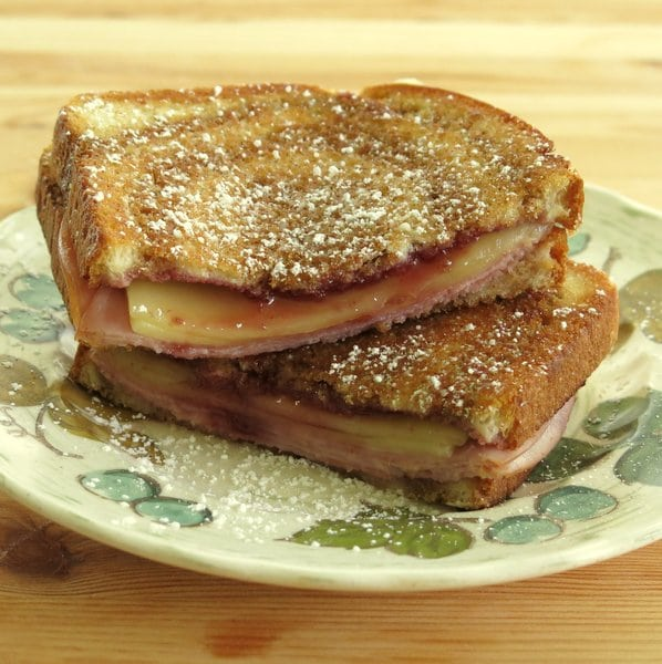 Monte Cristo Grilled Cheese