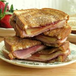 Monte Cristo Grilled Cheese for #SundaySupper