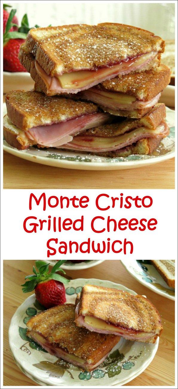 Monte Cristo Grilled Cheese Sandwich Recipe