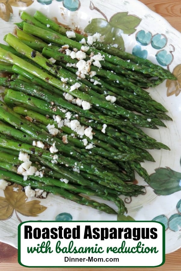 Roasted Asparagus Balsamic Pin