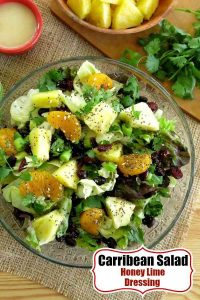 Caribbean Salad Honey Lime Dressing Recipe