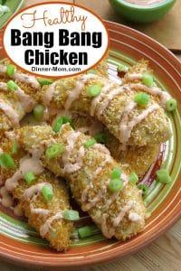 Healthy Bang Bang Chicken Recipe Pin