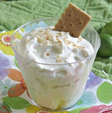 Key Lime Dip Recipe in cup