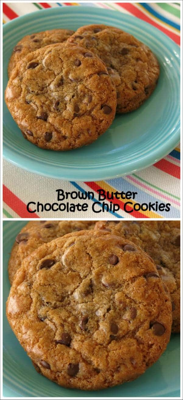 Brown Butter Chocolate Chips Cookies Recipe