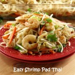 Easy Shrimp Pad Thai #WeekdaySupper #ChooseDreams