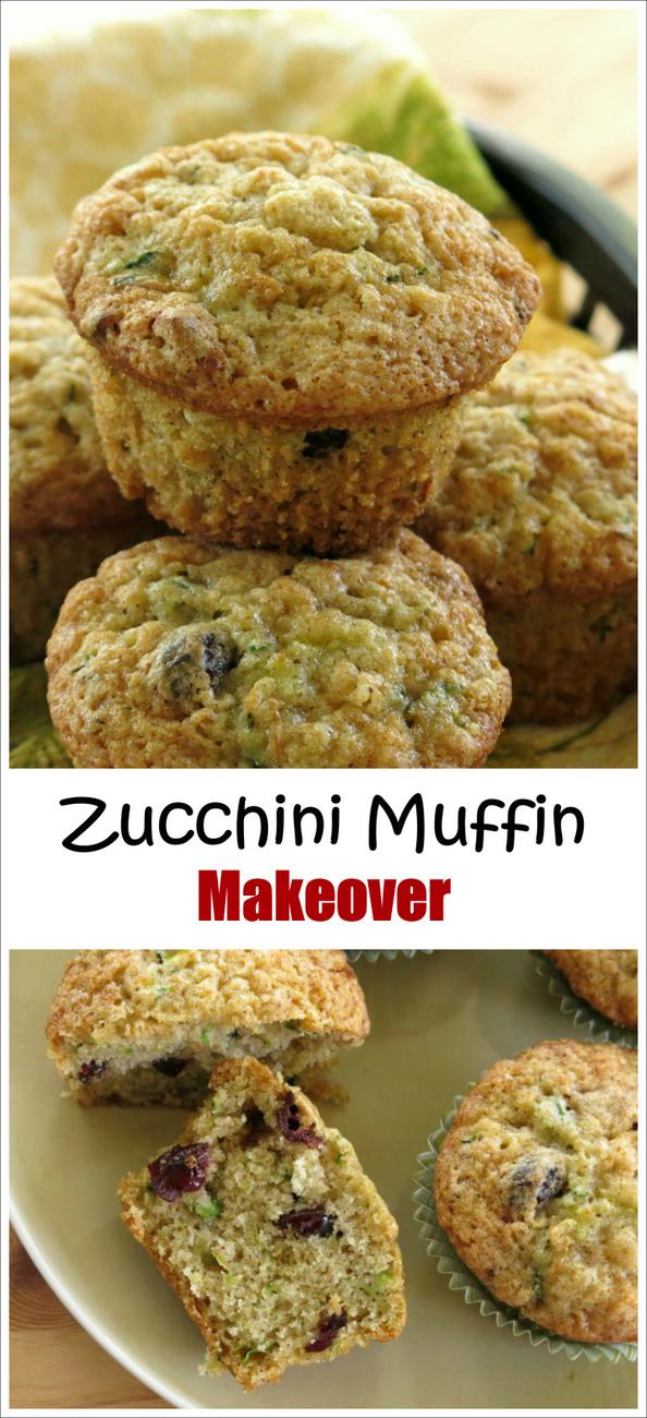 Easy Recipe for Healthy Zucchini Muffins