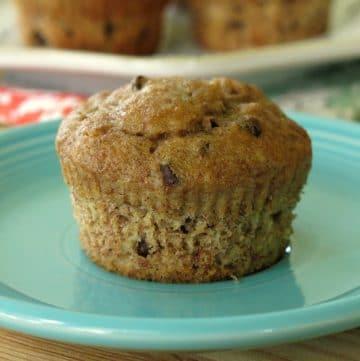 Healthy Banana Muffin Recipe with Greek Yogurt