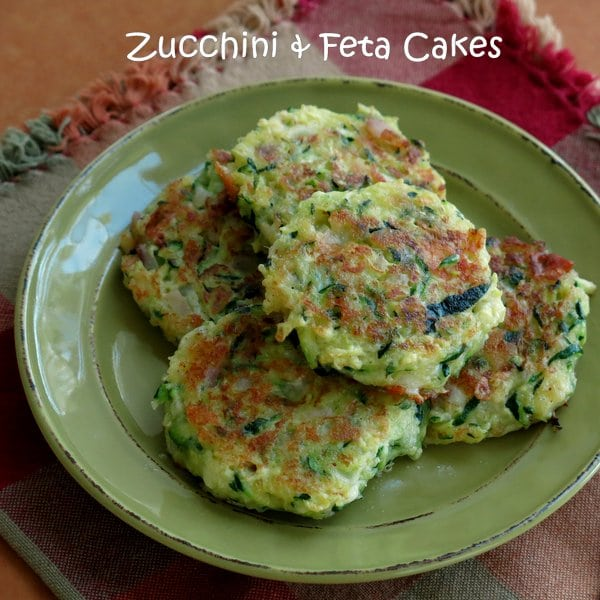 zucchini cakes with feta and red onion the dinner mom. Black Bedroom Furniture Sets. Home Design Ideas