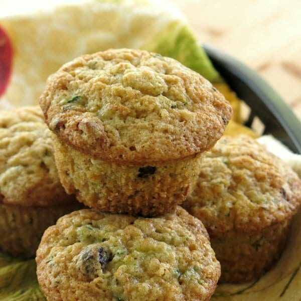 Zucchini Muffins Get a Healthy Makeover! - The Dinner-Mom