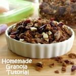 Homemade Granola Recipe Plus Tips to Customize