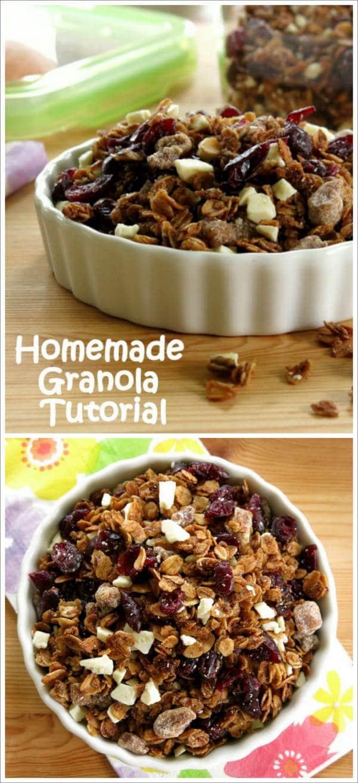 Homemade Granola Tutorial