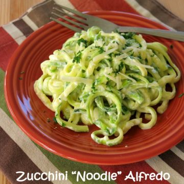 Zucchini Noodle Alfredo Recipe - Just 5 Ingredients
