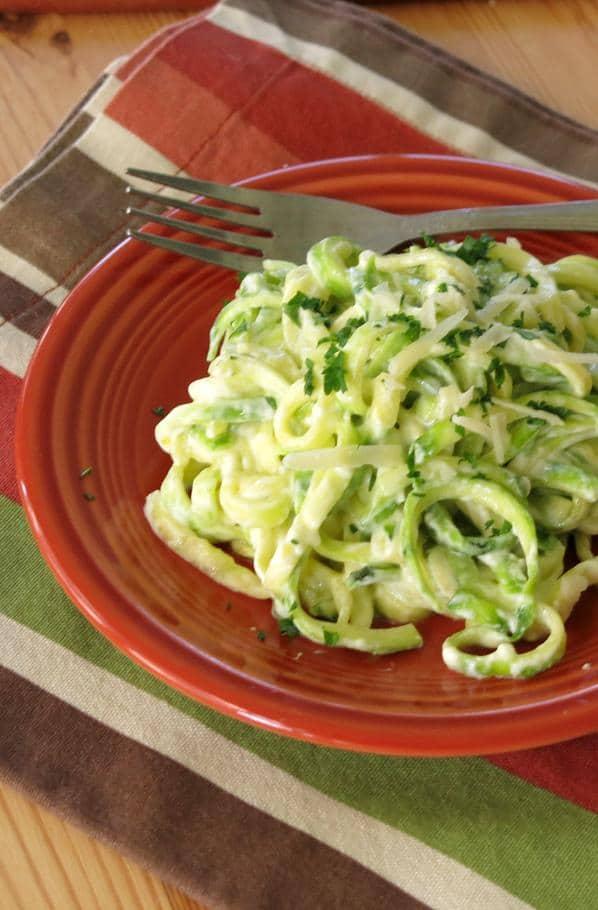 Zucchini Noodle Alfredo Recipe