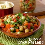 Chick Pea Salad Recipes that is Loaded with Veges