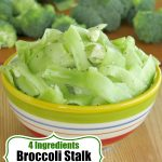 Broccoli Stalk Salad Pin