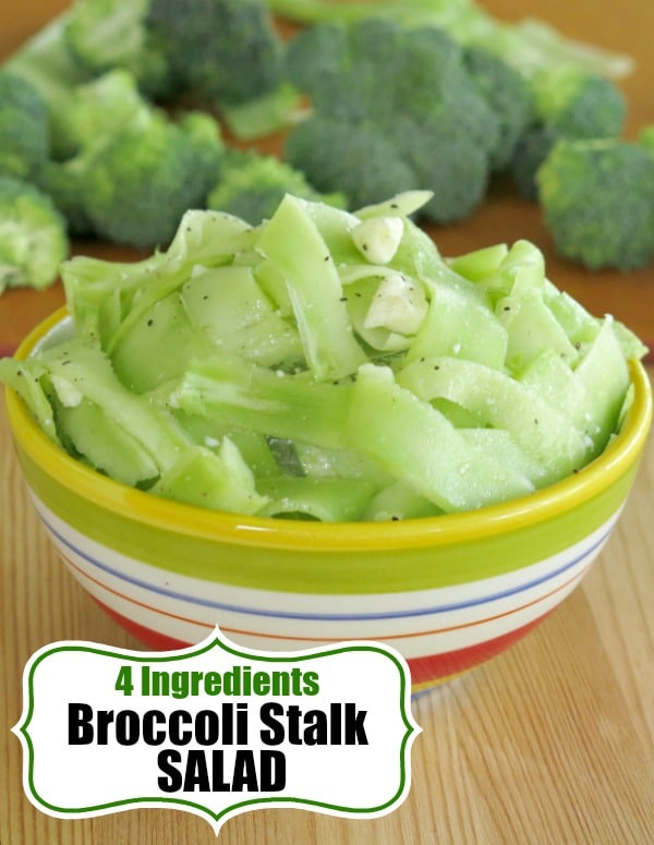 Broccoli Stalk Salad Pin