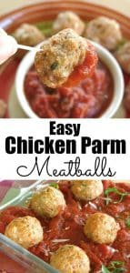 Easy Chicken Parm Meatball Pinterest