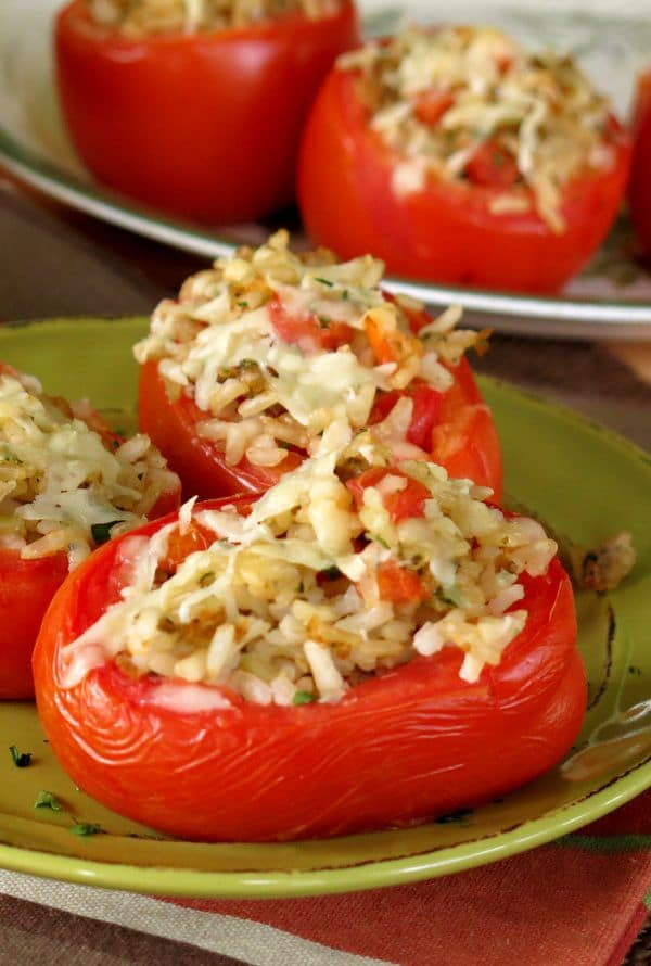 how to make stuffed tomatoes with rice