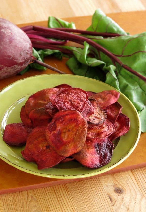 Baked Beet Chips Recipe