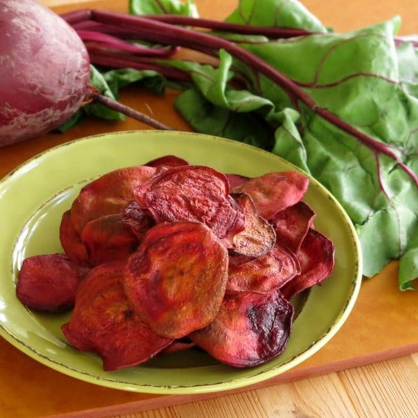 hope I didn't scare you off. These baked beet chips are absolutely ...