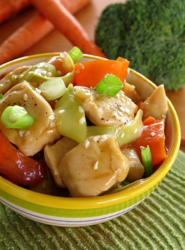 Chinese Orange Glazed Chicken Recipe