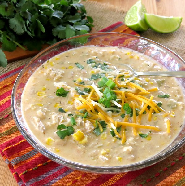Creamy White Bean Chicken Chili Recipe
