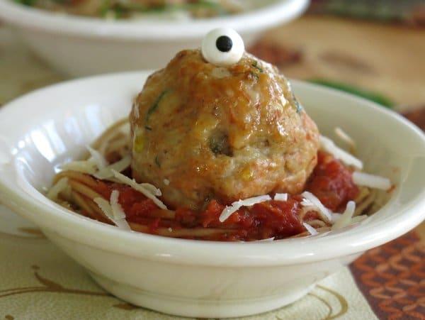 Baked Parmesan Chicken Meatballs Recipe