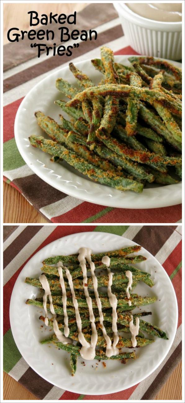 Baked Green Bean Fries Recipe